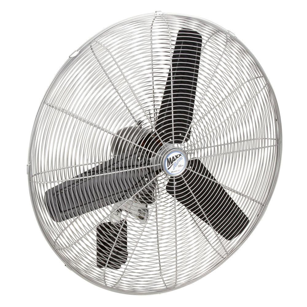 Ventamatic 30 in. High-Velocity Oscillating Wall Mount Fan