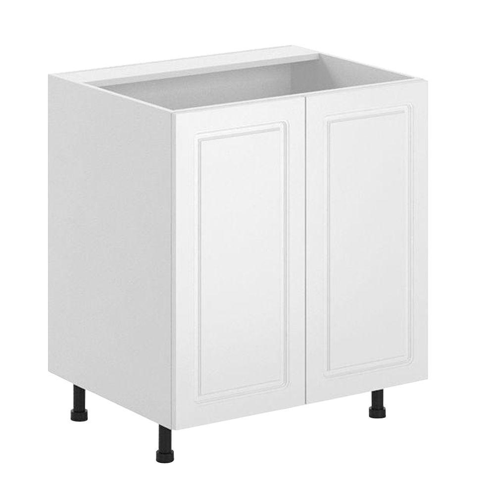 Fabritec 30x34.5x24.5 in. Lausanne Full Height Sink Base Cabinet in Maple