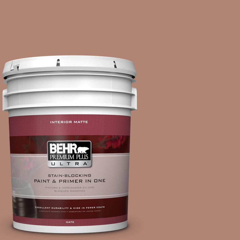 BEHR Premium Plus Ultra 5 gal. #PMD-98 Painted Skies Flat/Matte Interior