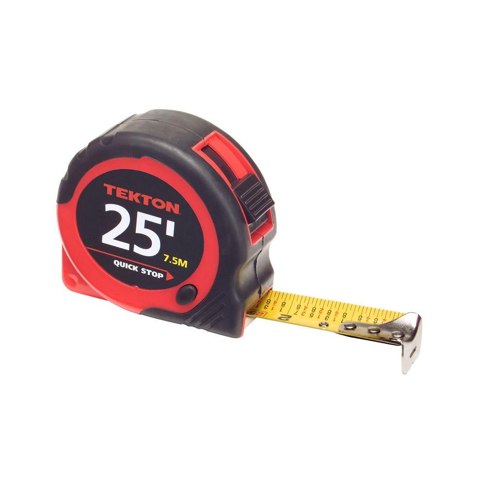 TEKTON 25 ft. x 1 in. Tape Measure-71953 - The Home