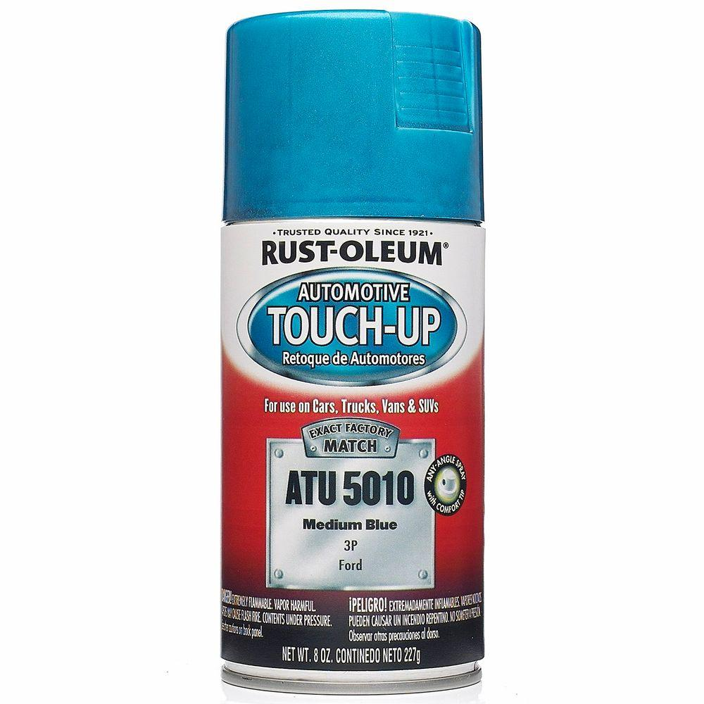 8 oz. Medium Blue Auto Touch-Up Spray (6-Pack)