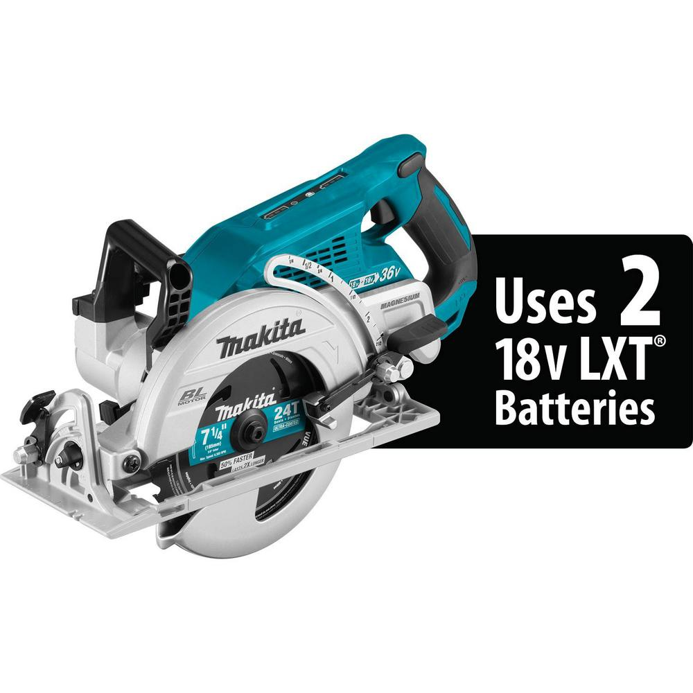 18-Volt X2 LXT Lithium-Ion (36-Volt) Brushless Cordless Rear Handle 7-1/4 in.