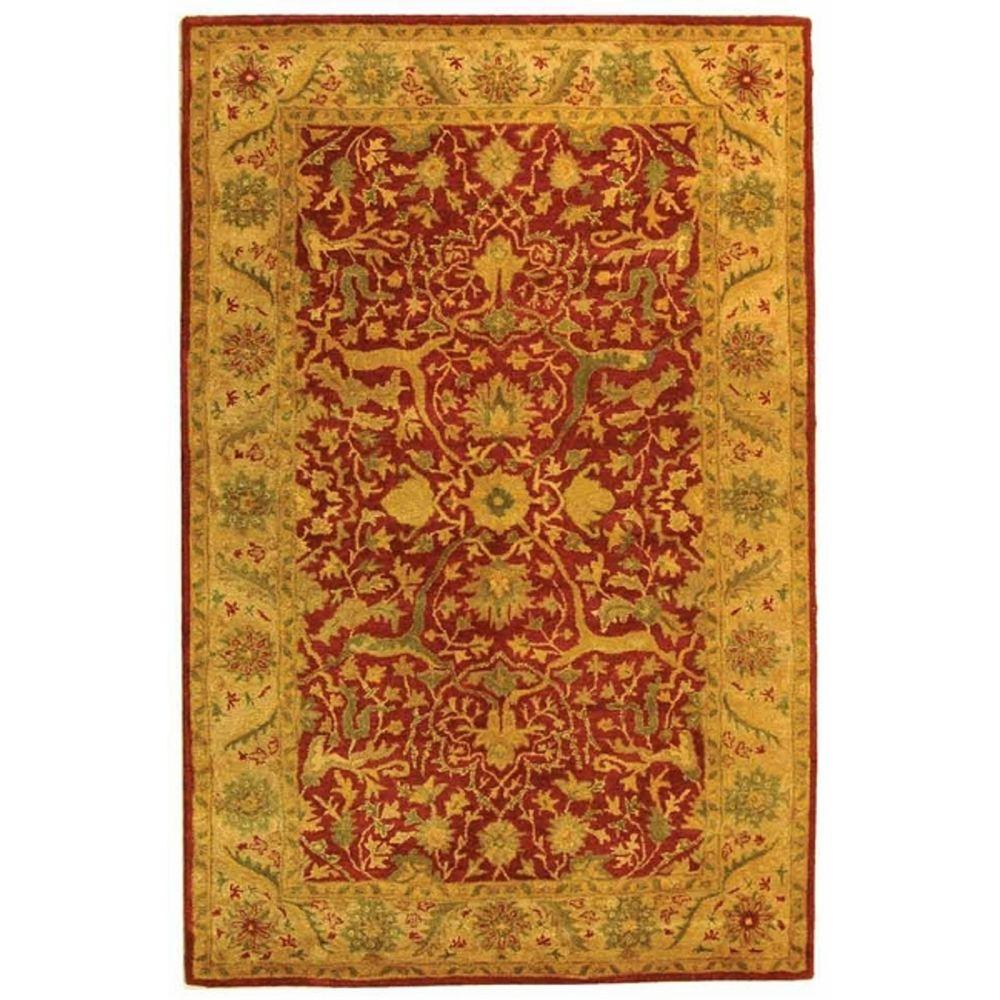 Antiquity Rust 5 ft. x 8 ft. Area Rug