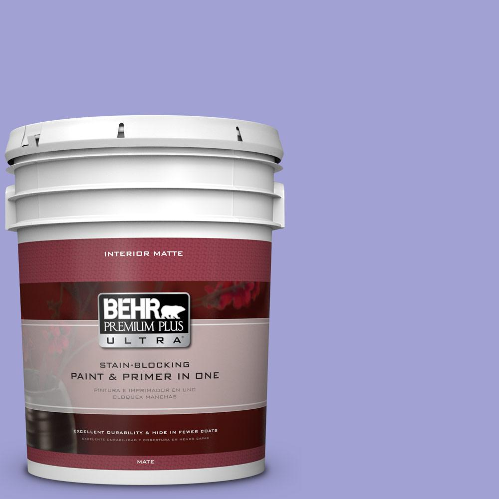 BEHR Premium Plus Ultra 5 gal. #P550-4 Water Hyacinth Matte Interior