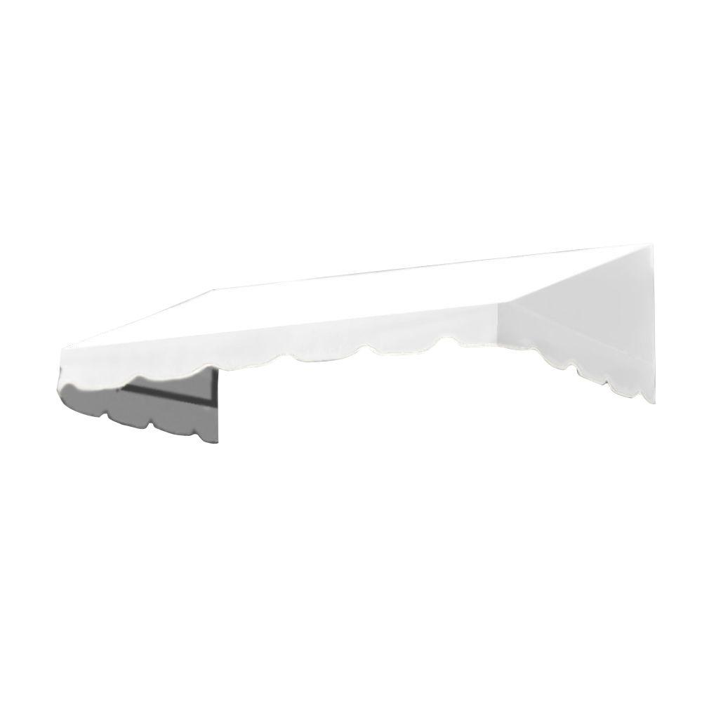 AWNTECH 45 ft. San Francisco Window/Entry Awning (56 in. H x 48 in. D) in Off-White