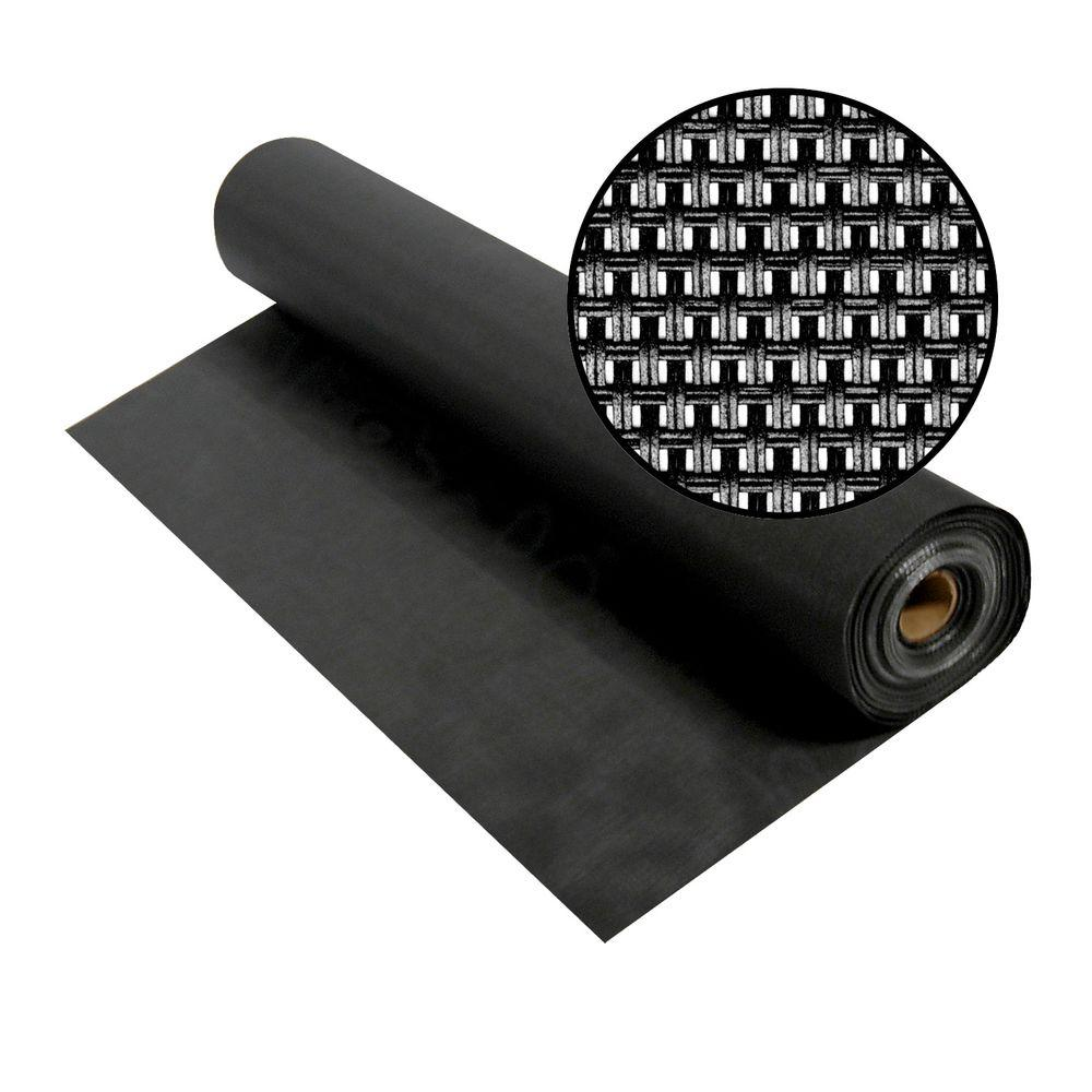 36 in. x 100 ft. Charcoal Super Solar Screen