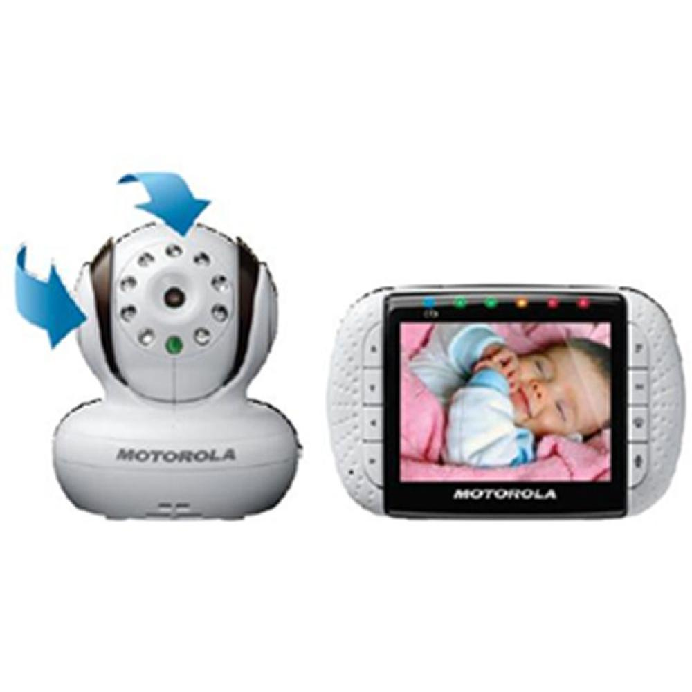 Motorola 3.5 in. Wireless Digital Audio with Video Baby Monitor