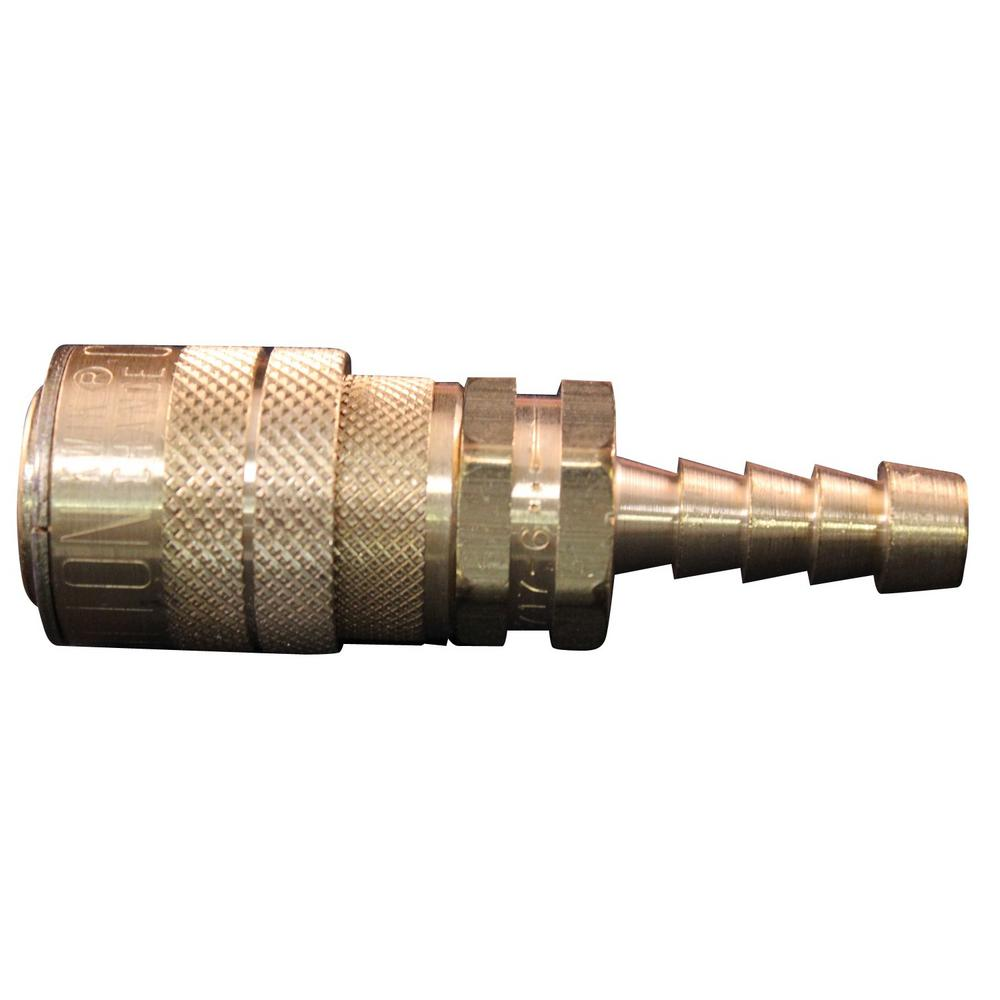 3/8 in. Hose Barb M Style Coupler (100-Pieces)