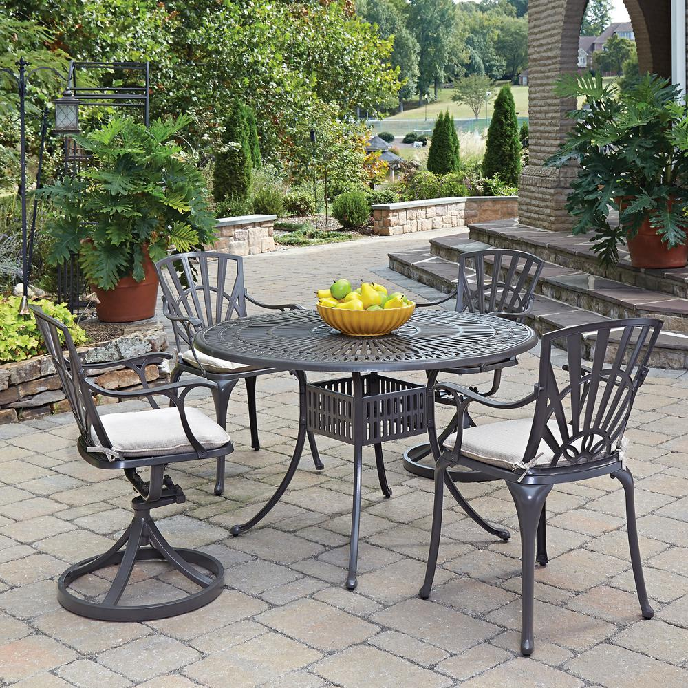 Largo 5-Piece Patio Dining Set with Cushions