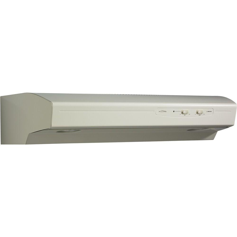 Allure 1 Series 36 in. Convertible Range Hood in Bisque-on-Bisque