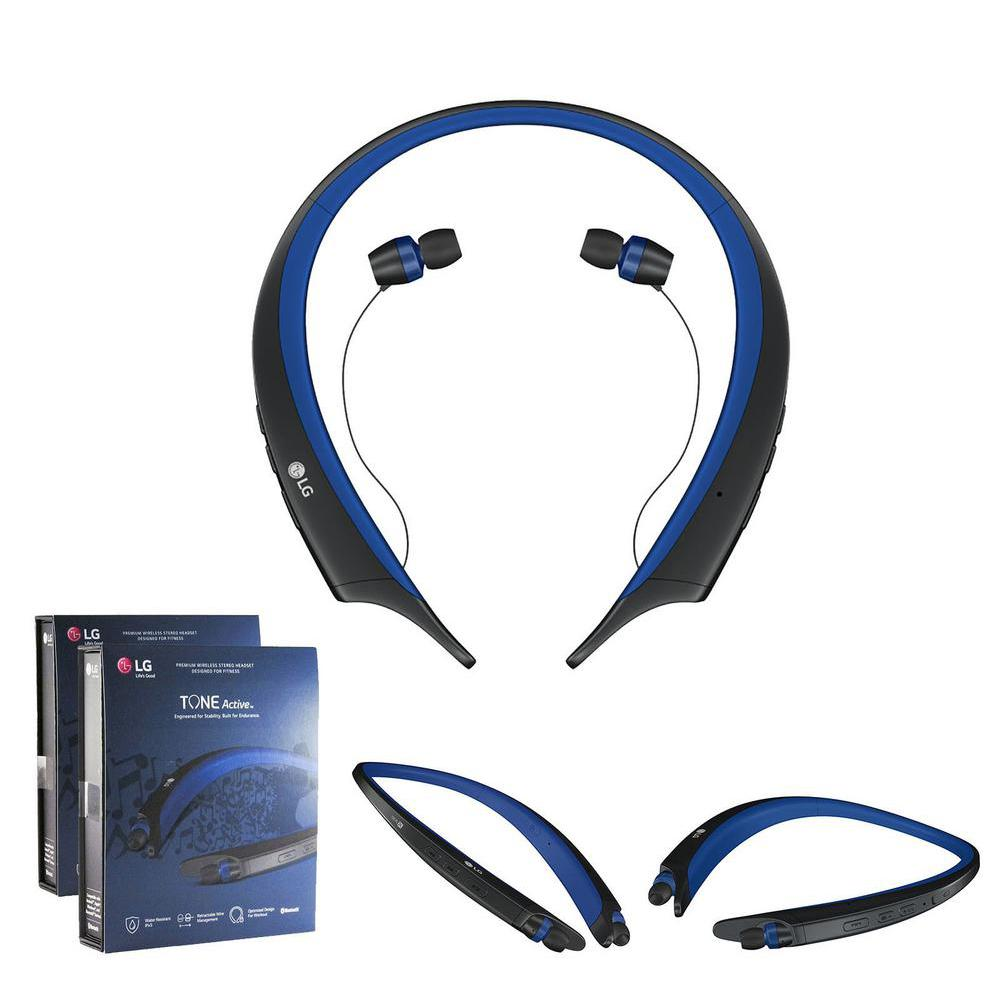 HBS-A80 Tone Active Stereo Wireless Bluetooth Rechargeable Headset for Any