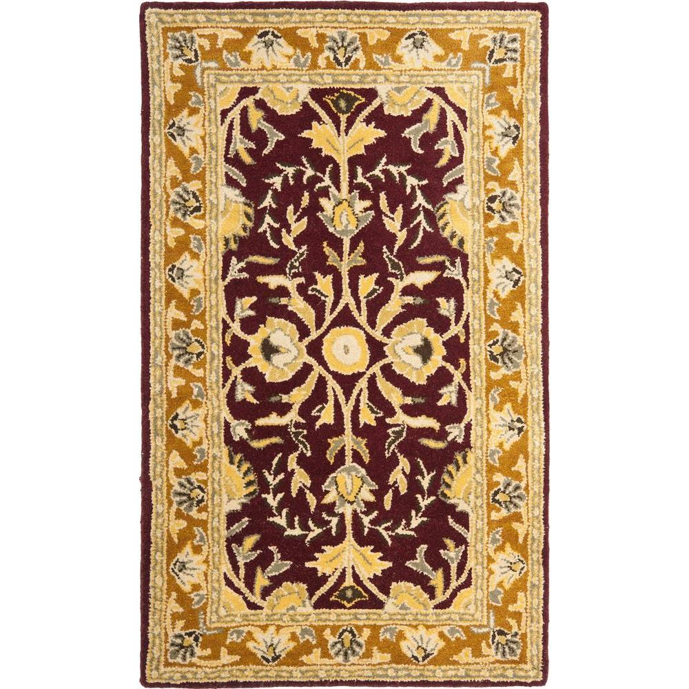 Heritage Red/Gold 4 ft. x 6 ft. Area Rug