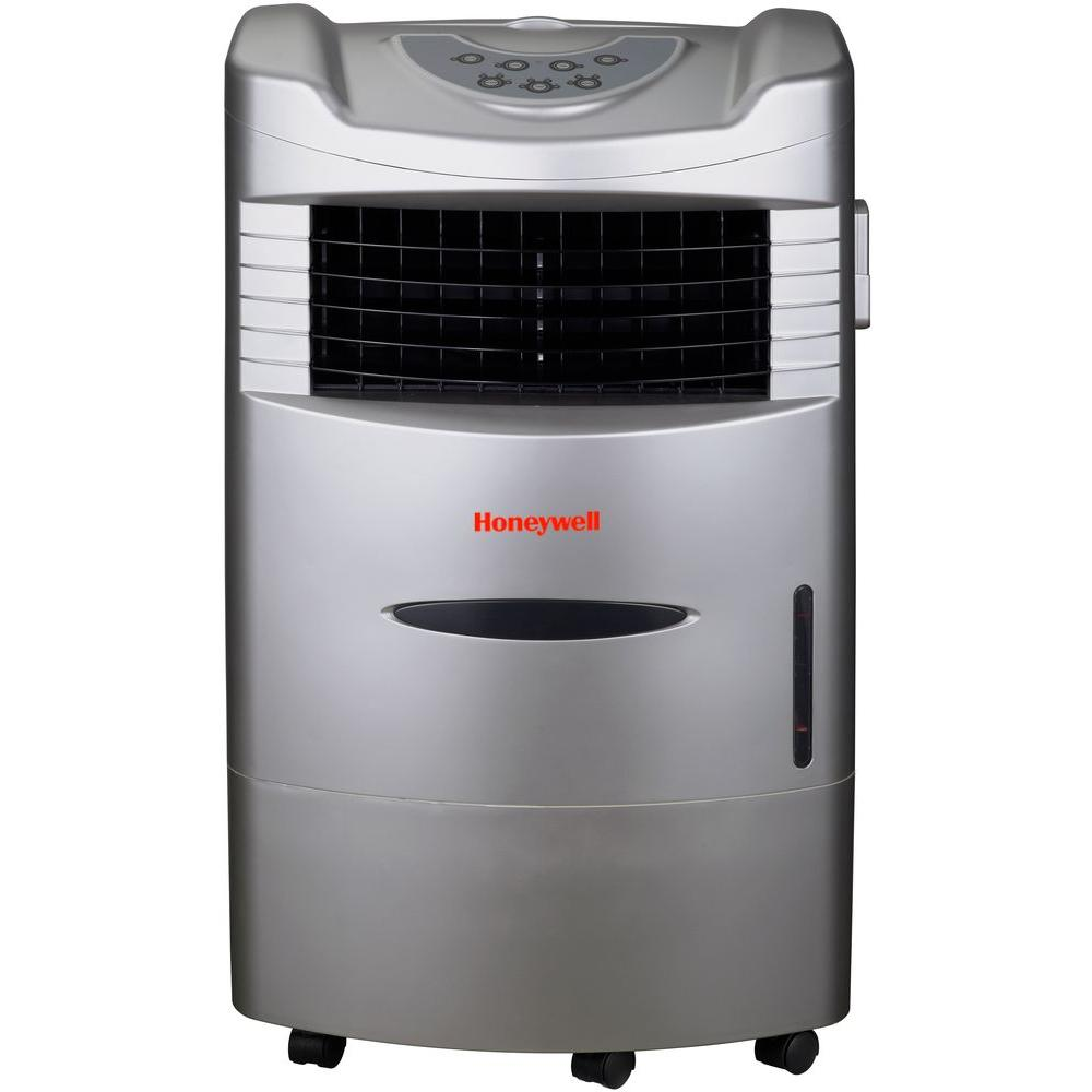 470 CFM 4-Speed Indoor Portable Evaporative Cooler with Remote Control for