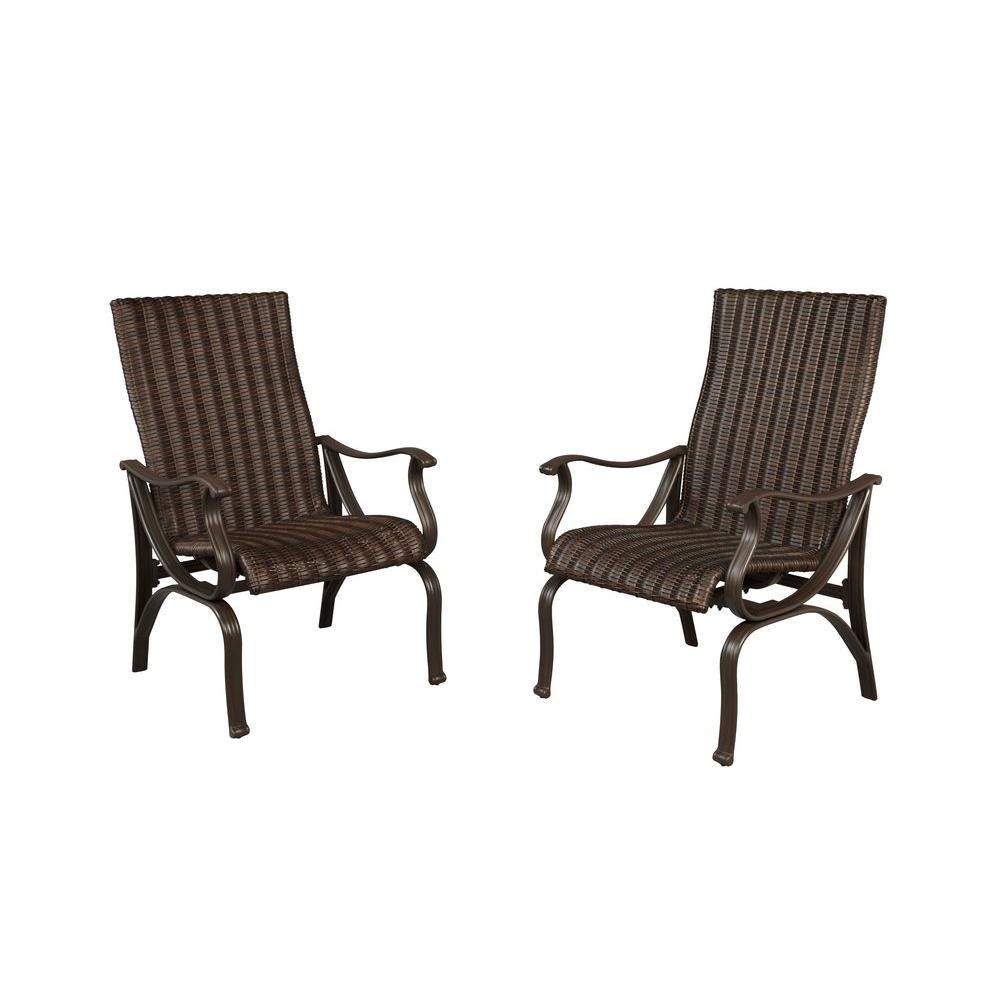 Hampton Bay Pembrey Patio Dining Chairs 2 Pack Internet