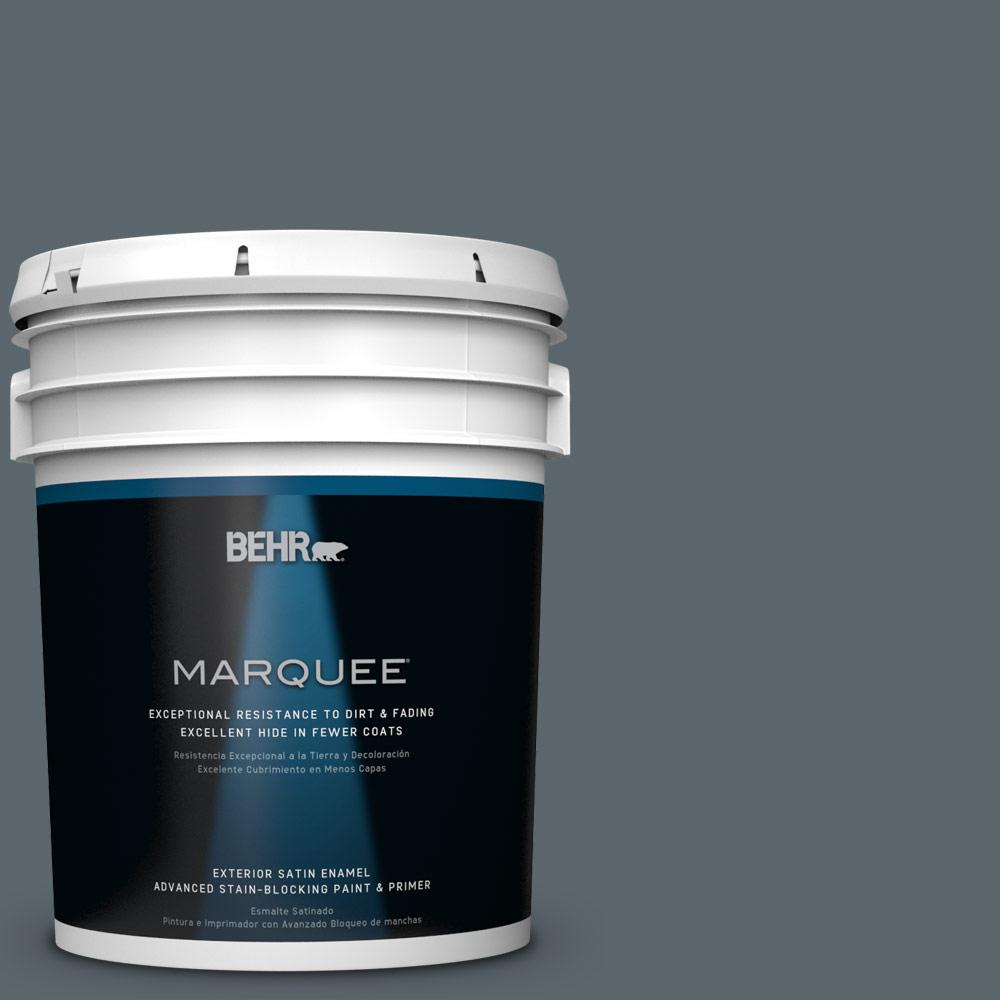 BEHR MARQUEE 5 gal. #PPU25-20 Le Luxe Satin Enamel Exterior Paint-945305