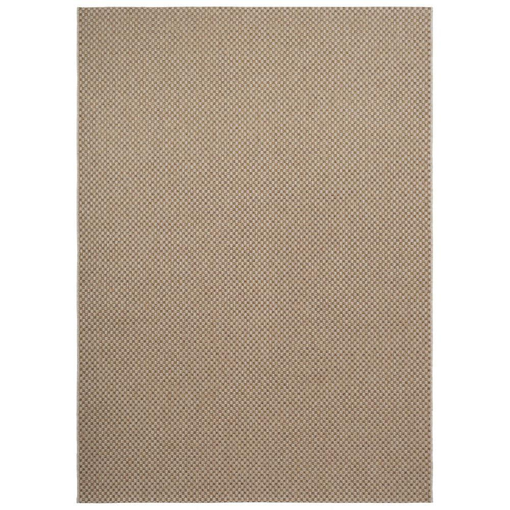 Home Decorators Collection Messina Tan 5 Ft 3 In X 7 Ft 5 In Indoor Outdoor Area Rug