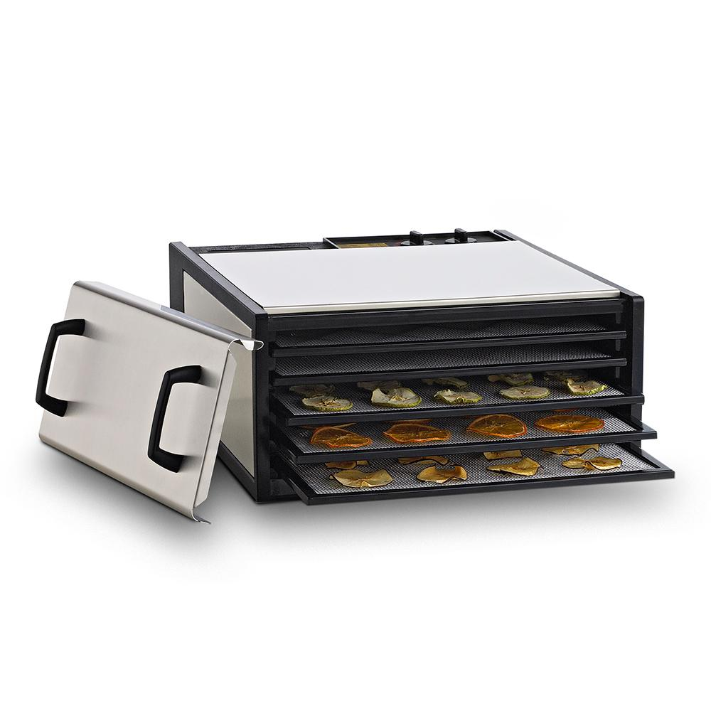 products 778a stainless steel 10 tray dehydrator w timer