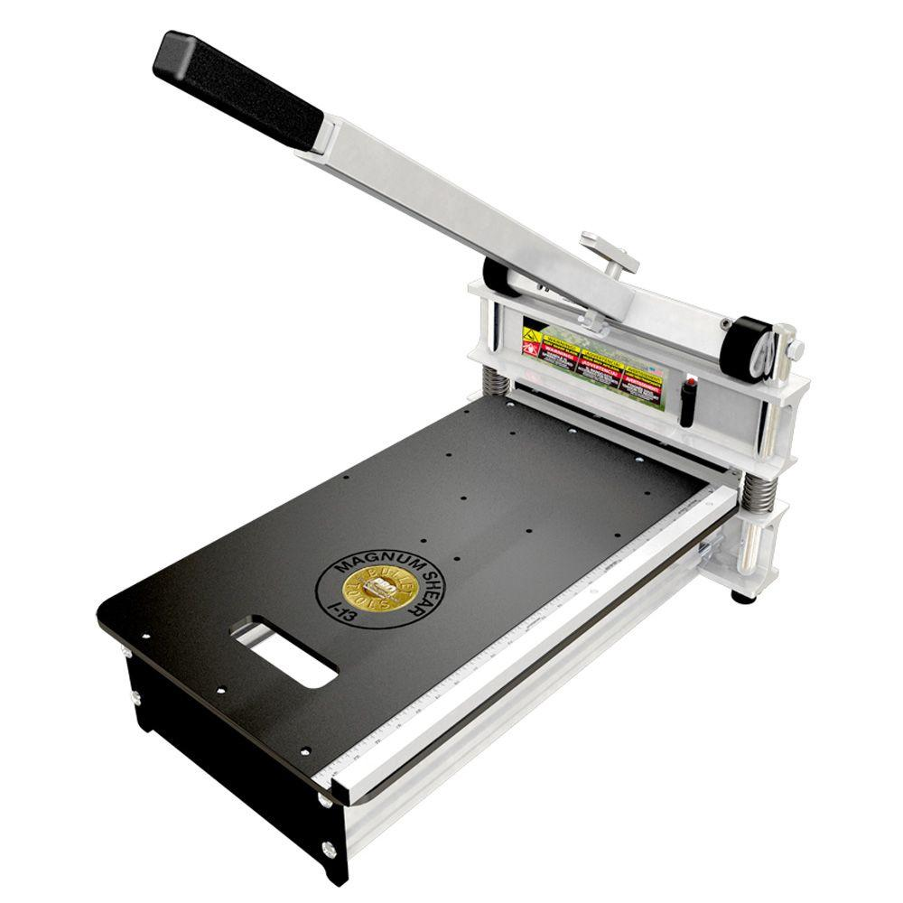 Bullet Tools 13 in. Magnum Laminate Flooring Cutter for Pergo, Wood and More