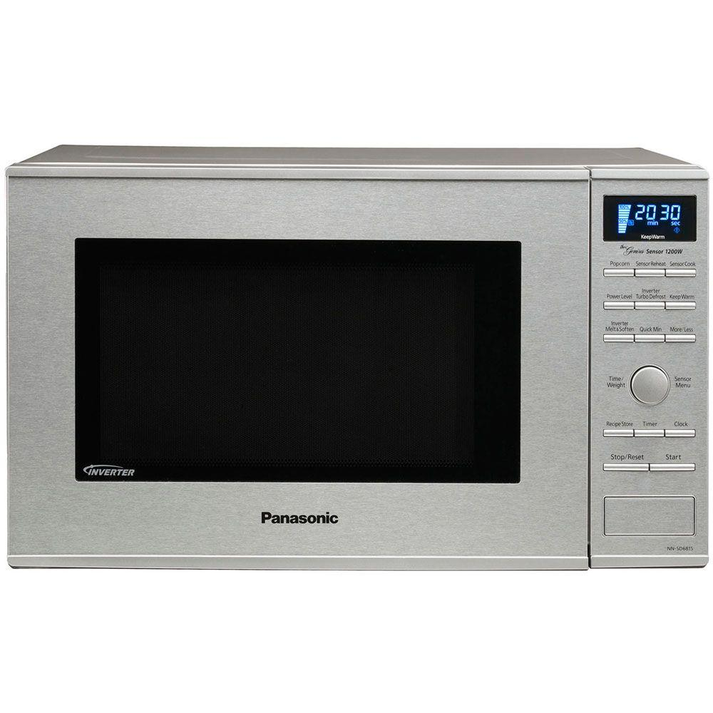 Panasonic 1.2 cu. ft. Countertop Microwave in Stainless Steel with Sensor Cooking