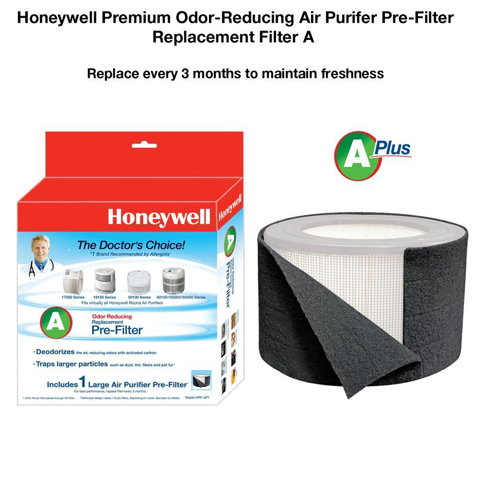 Odor/Gas Reducing Universal Pre-Filter
