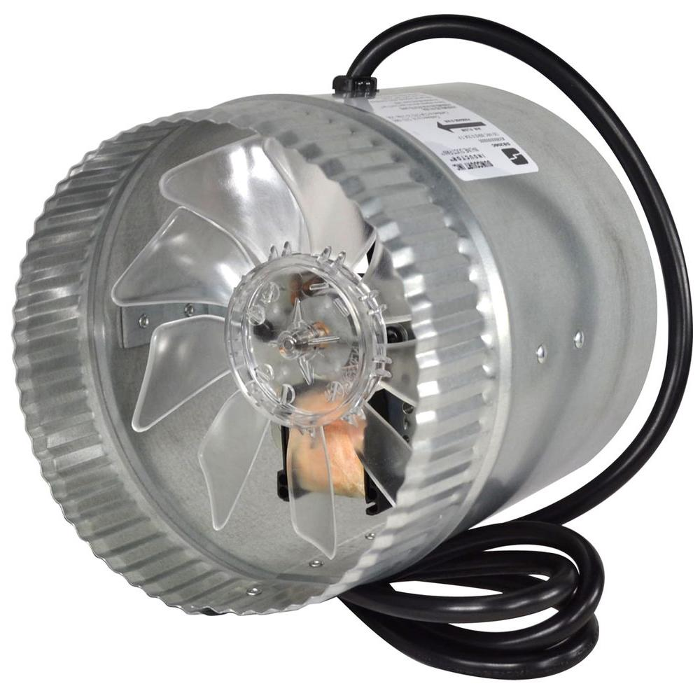 Suncourt Inductor 6 in. Corded In-Line Duct Fan-DB206C - The Home
