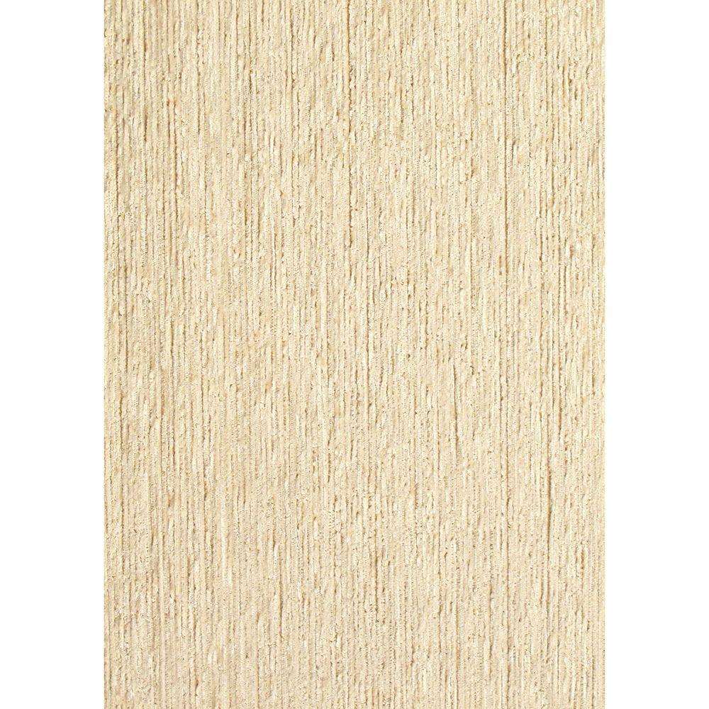 The Wallpaper Company 72 sq. ft. Beige String Textured Grasscloth Wallpaper-DISCONTINUED