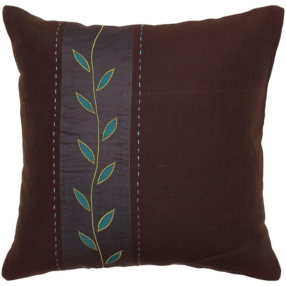 Artistic Weavers LeafA1 18 in. x 18 in. Decorative Pillow-DISCONTINUED