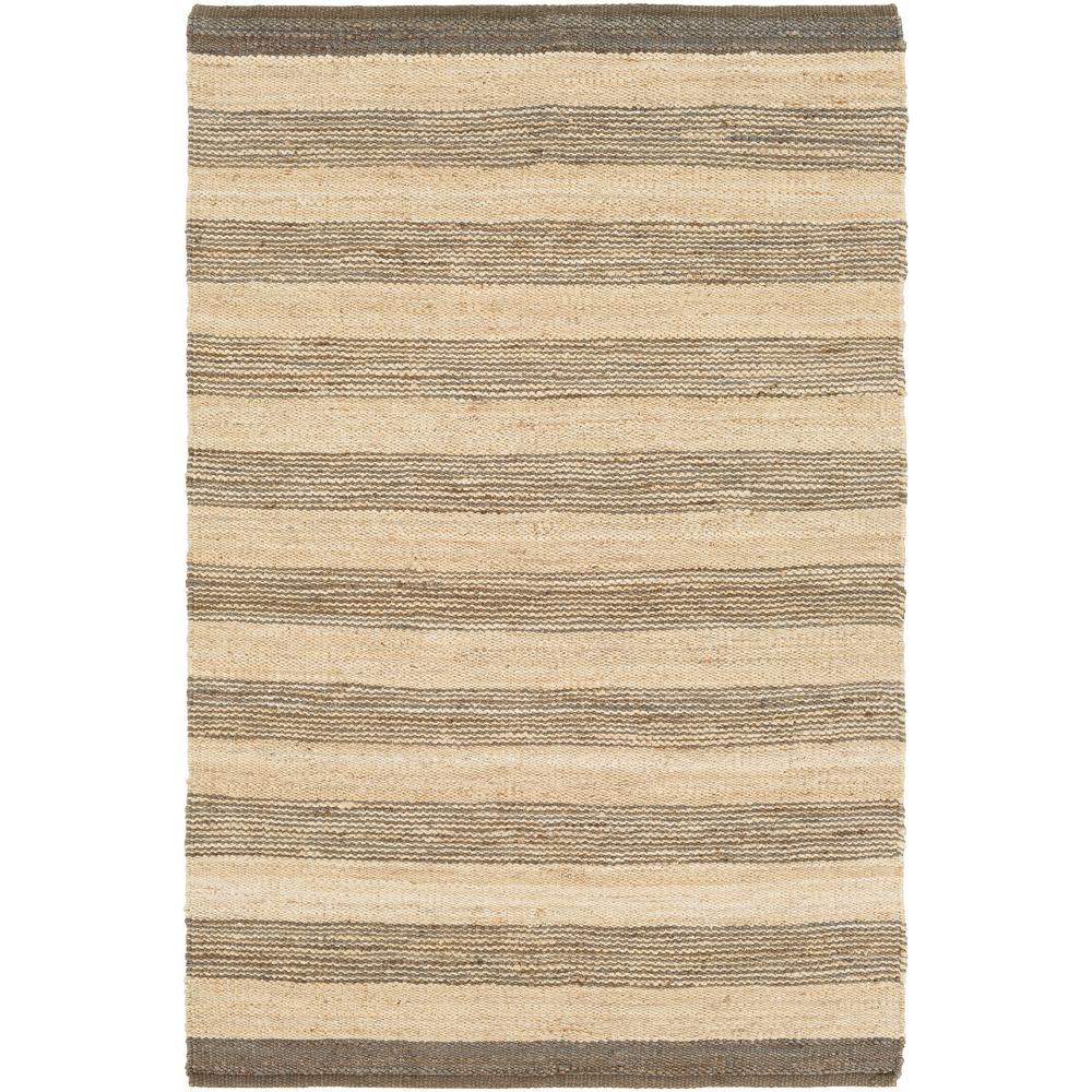 Portico Lexie Taupe 9 ft. x 12 ft. Indoor Area Rug