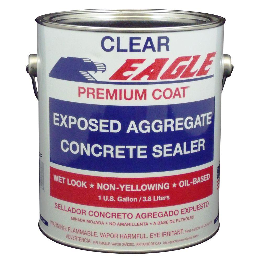 Eagle 1 gal. Premium Coat Clear Wet Look Glossy Solvent-Based Acrylic