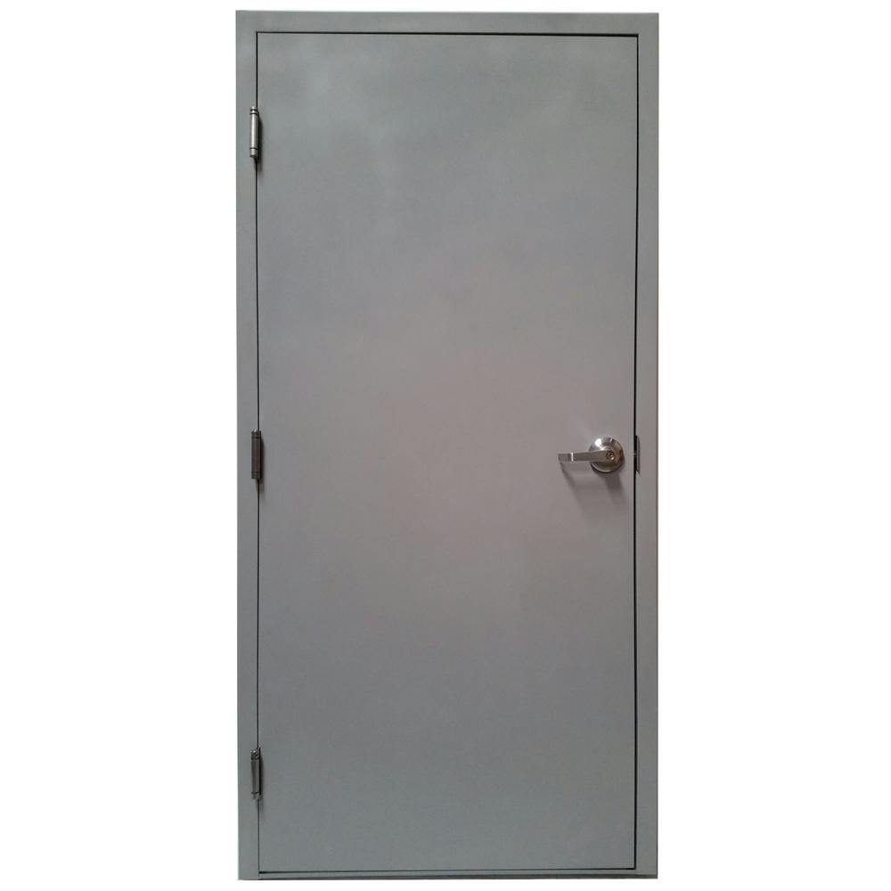 steel door with knock down frame and hardware vsdfpkd3680er the home