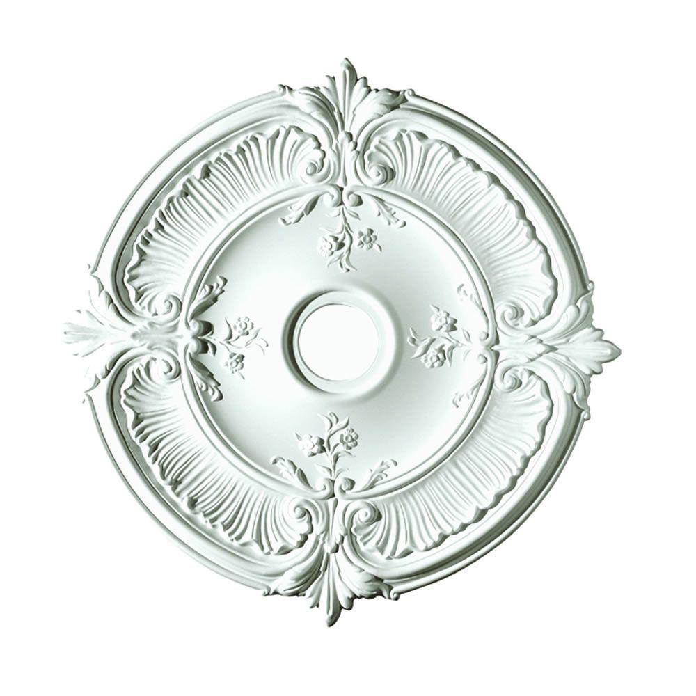 Focal Point 30 in. Acanthus Ceiling Medallion-81031 - The Home Depot