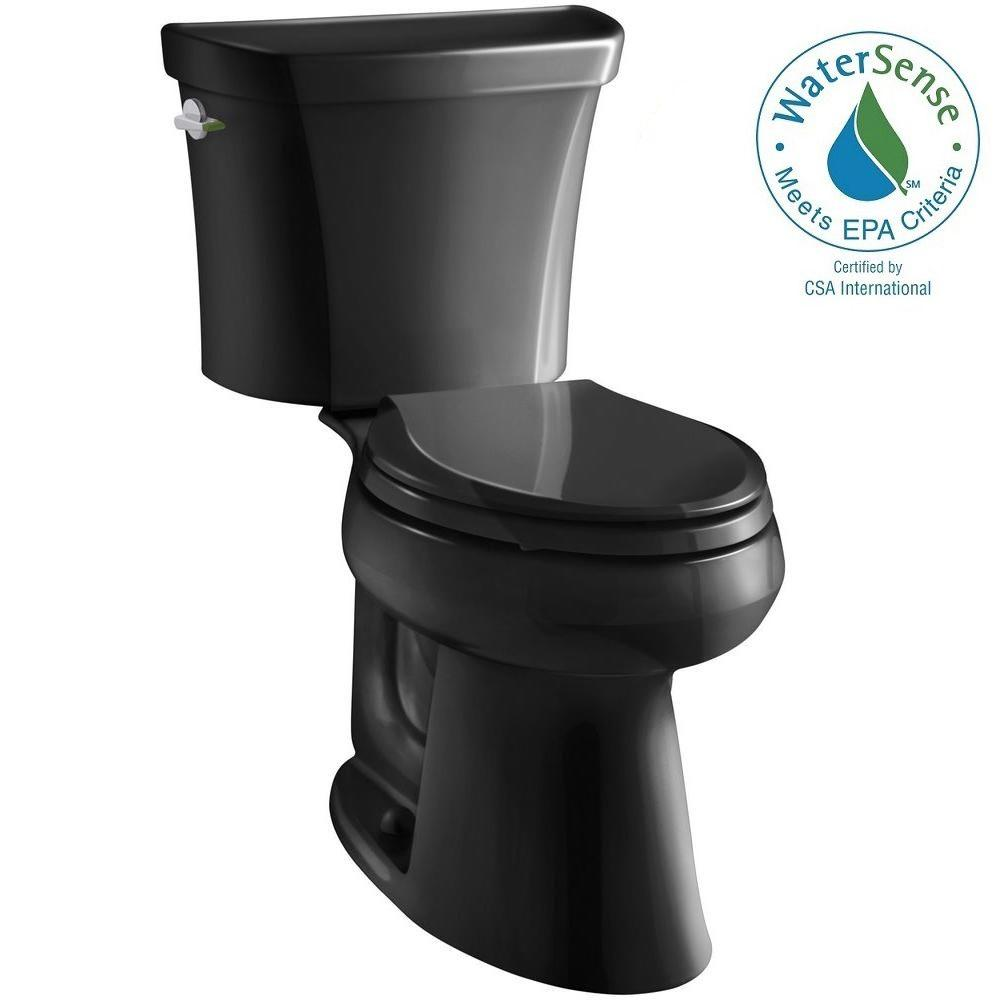 Highline 2-piece 1.1 or 1.6 GPF Dual Flush Elongated Toilet in