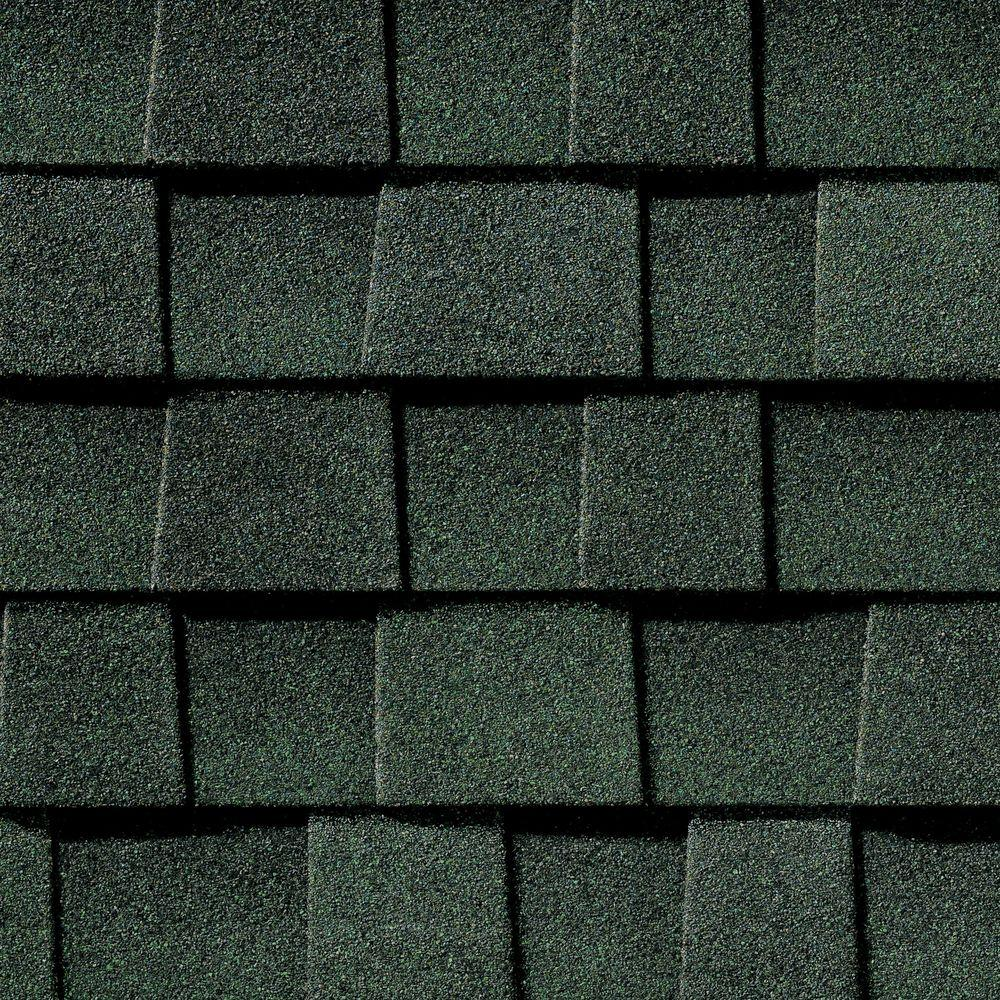 Timberline Natural Shadow Hunter Green Lifetime Shingles (33.3 sq. ft. per