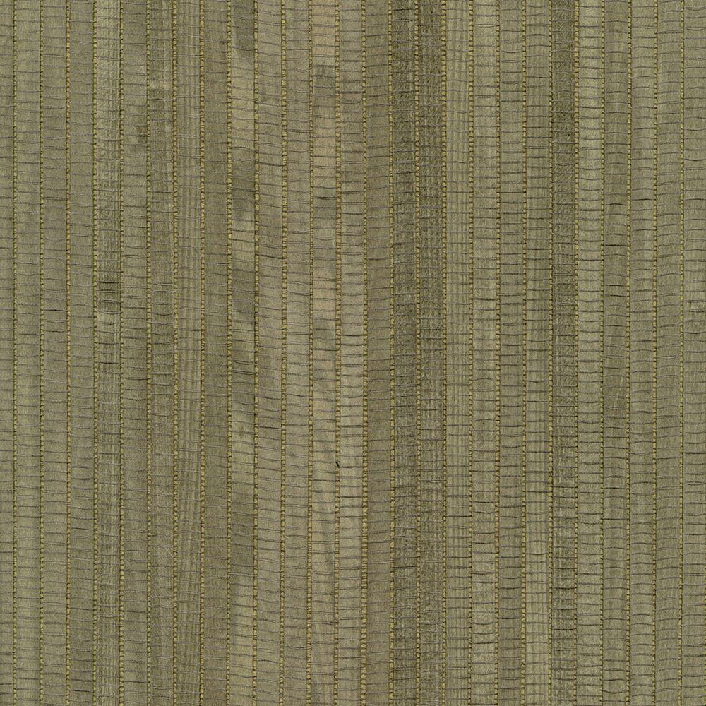 Kenneth James 72 sq. ft. Lucie Charcoal Grasscloth Wallpaper-2622-54730 - The