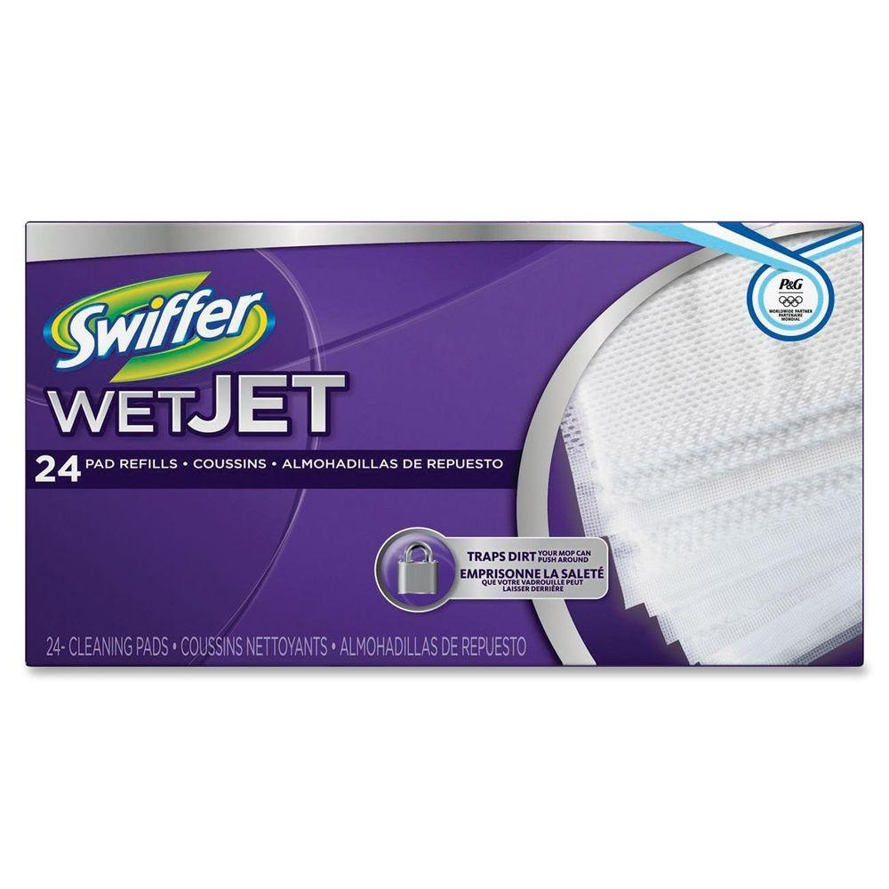 Swiffer Wetjet Cleaning Pad Refills 24 Count Pgc08443