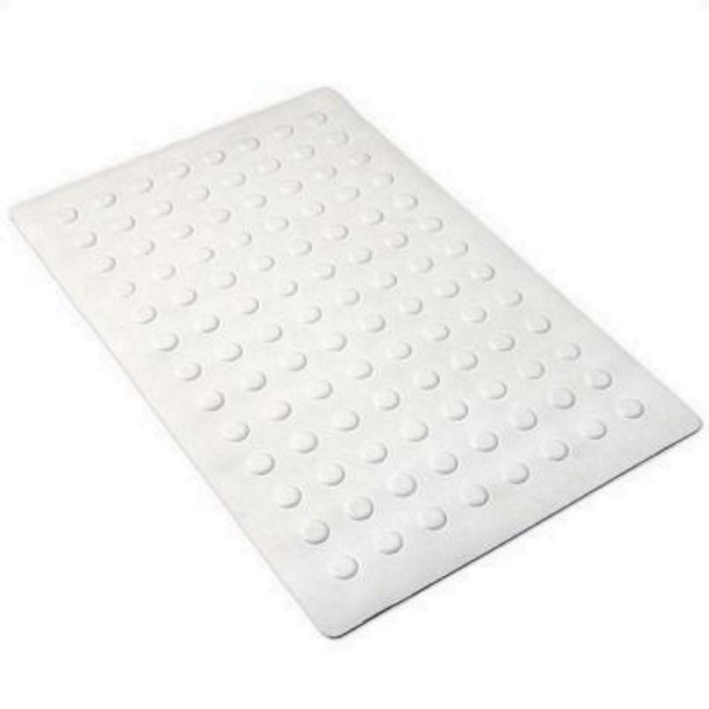 14 in. x 22 in. Medium Rubber Safety Bath Mat with