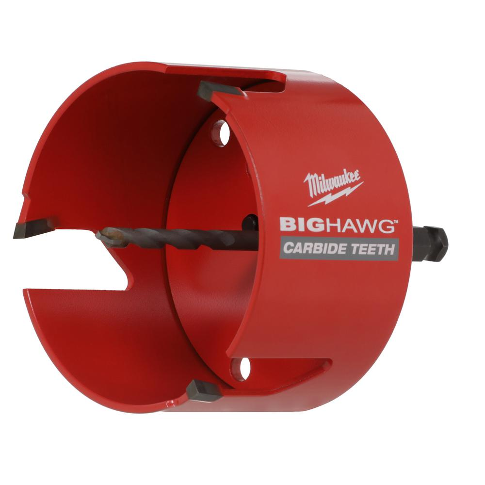 Hole saw kit boasting a heavy-duty construction for an extended life