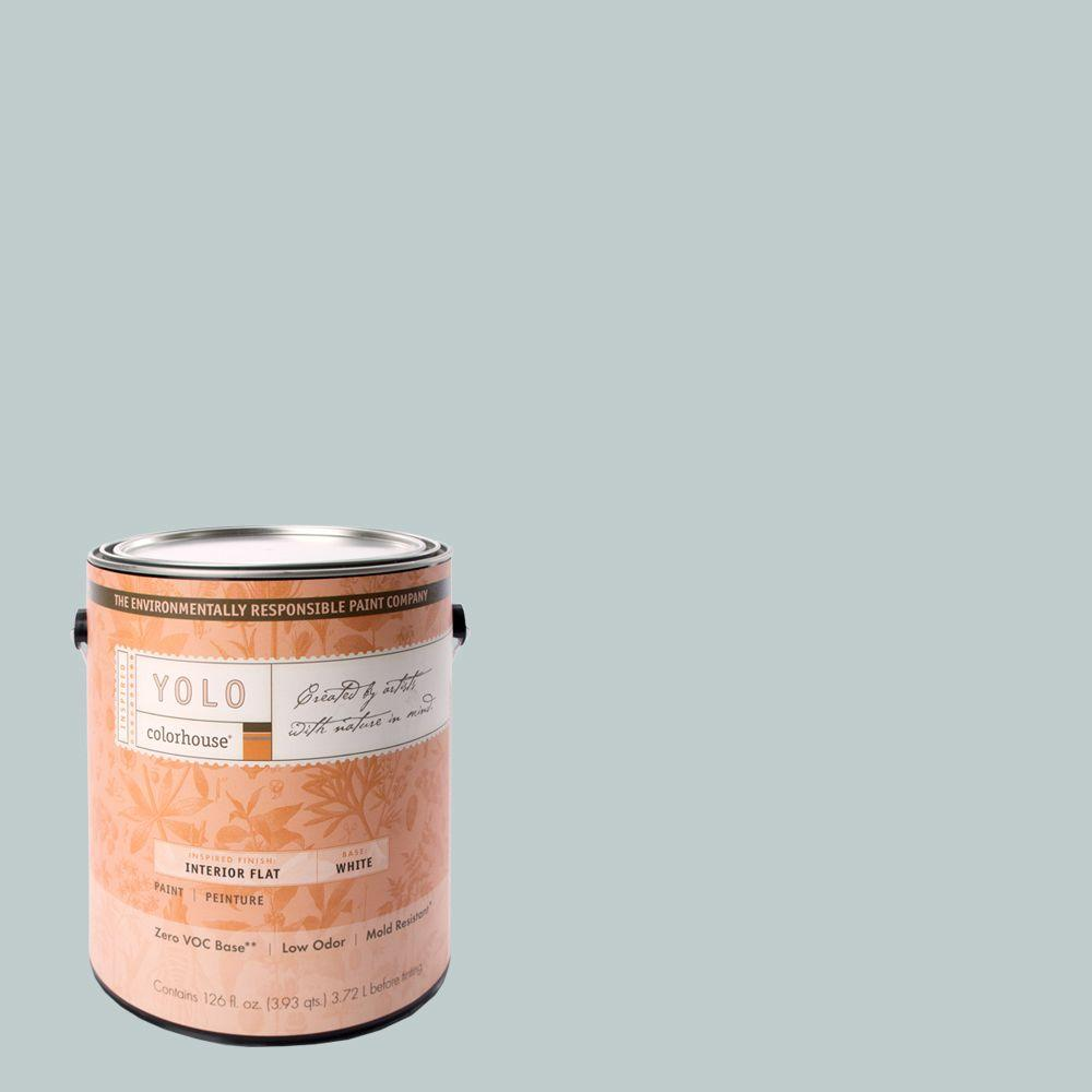 YOLO Colorhouse 1-gal. Wool .02 Flat Interior Paint-DISCONTINUED