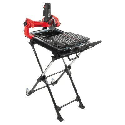 Husky 7 In. Wet Tile Saw with Laser and Stand-DISCONTINUED