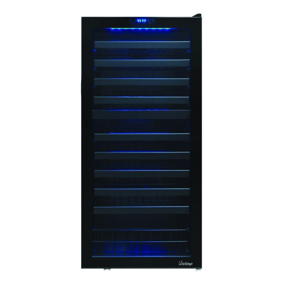 110-Bottle Dual Zone Touch Screen Wine Cooler