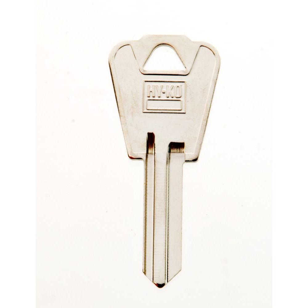 Blank E-Z Set National Cabinet Lock Key