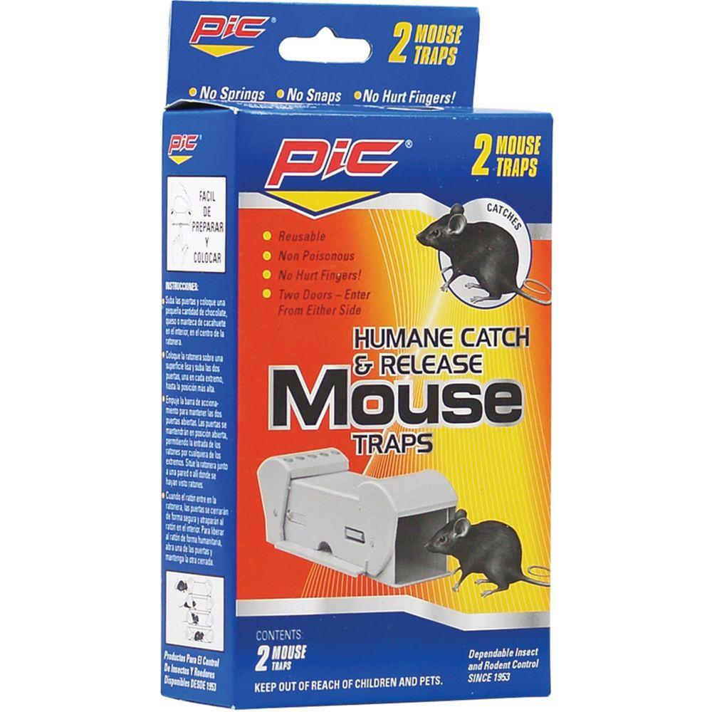 2 Catch and Release Mouse Trap (2-Packs)