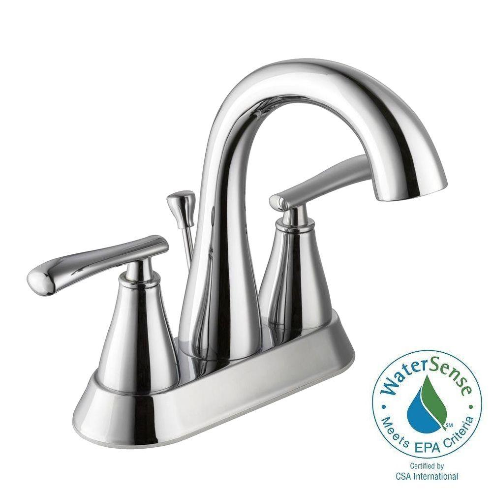 Glacier bay 4 inch centerset sink faucets bathroom - Kitchen sink faucets home depot ...