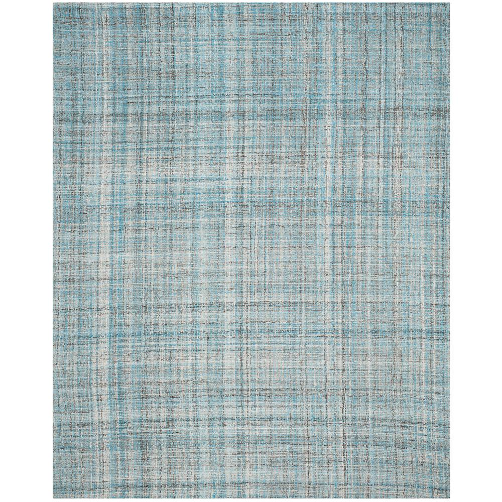 Abstract Blue/Multi 8 ft. x 10 ft. Area Rug