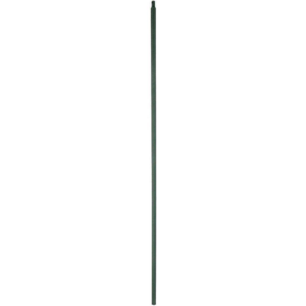 Stair Parts 44 in. x 1/2 in. Matte Black Iron Baluster