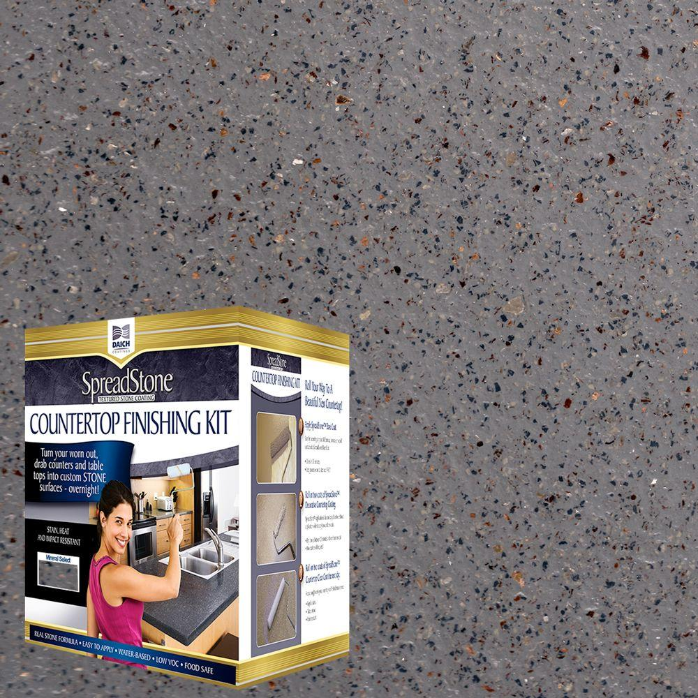 Mineral Select 1 qt. Lodestone Countertop Refinishing Kit (4-Count)
