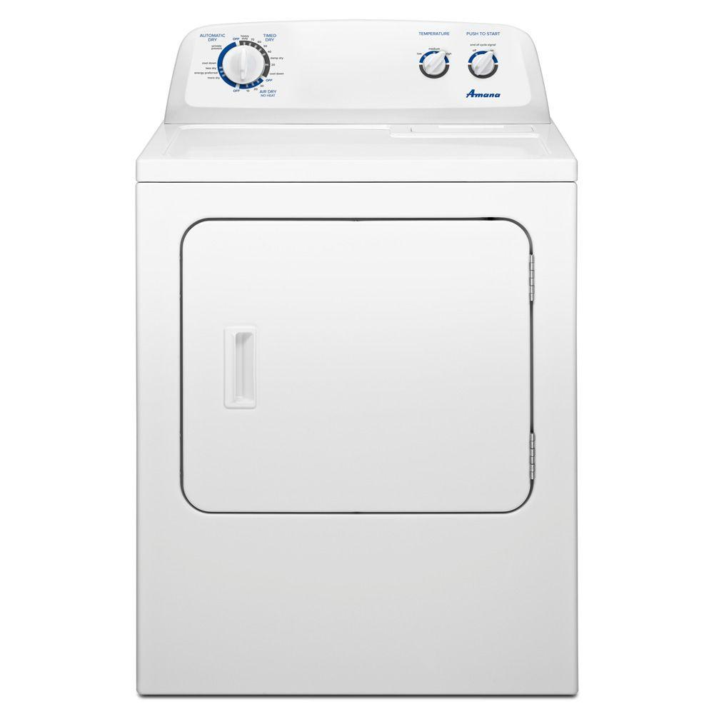 Amana 7.0 cu. ft. Gas Dryer in White