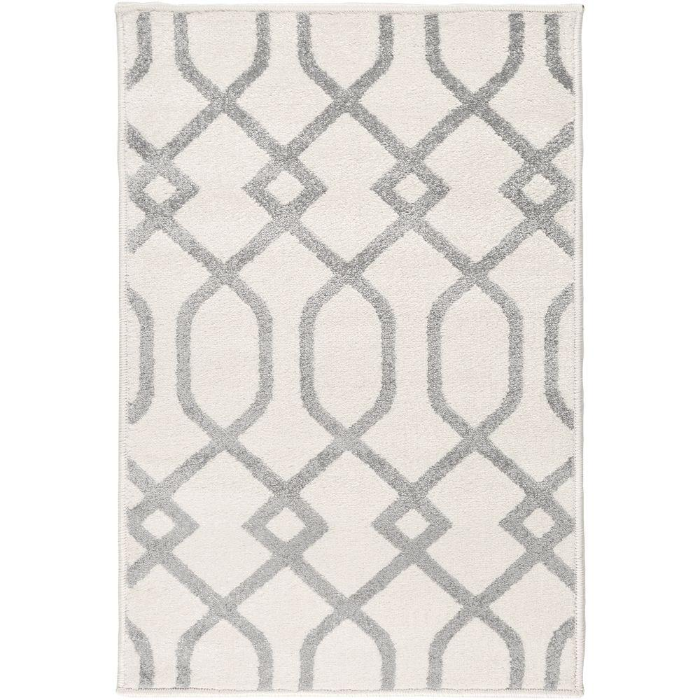 Hallekis Ivory 7 ft. 10 in. x 10 ft. 3 in.