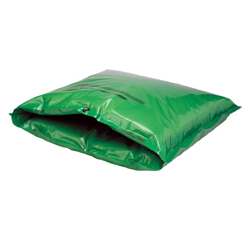24 in. W x 24 in. H Small Fiberglass Encapsulated Green