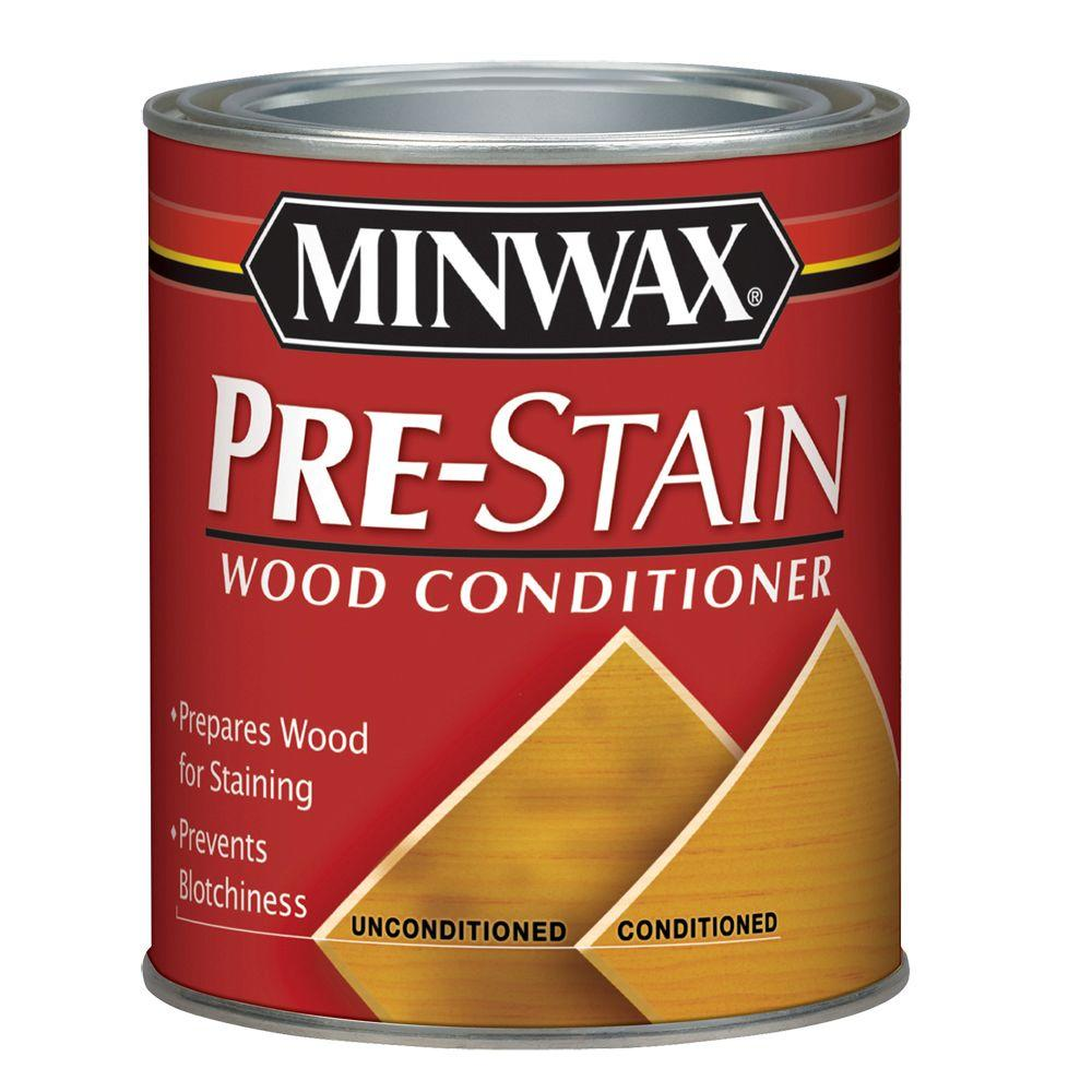 Minwax 1 pt. Pre-Stain Wood Conditioner-41500 - The Home Depot